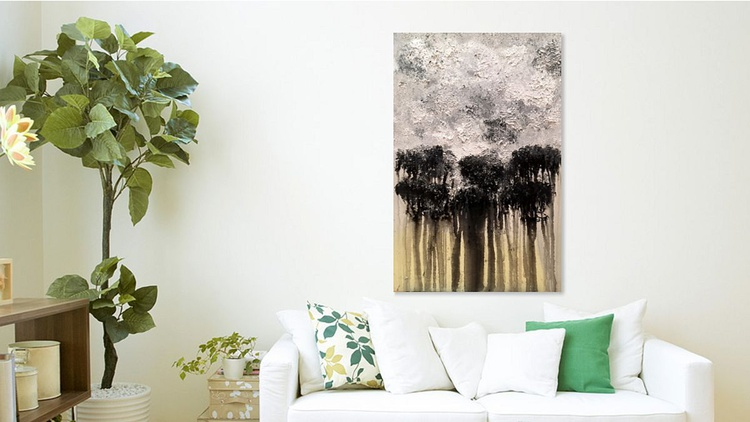 Forest   Original Painting   91.4 x 61.0   2016 - Image 0