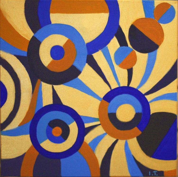 Abstract chaos of circles - Image 0