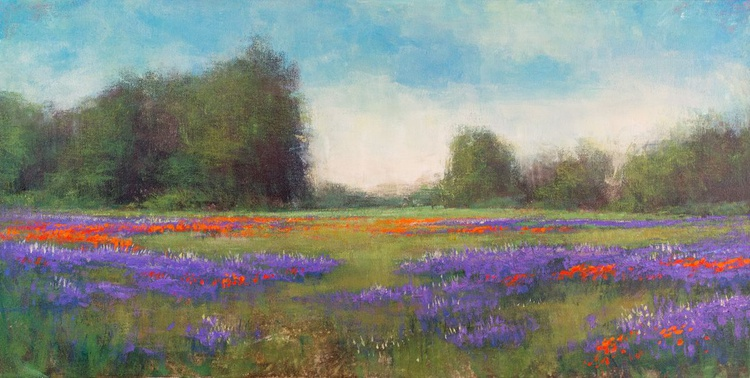 Lupine And Poppies - Image 0