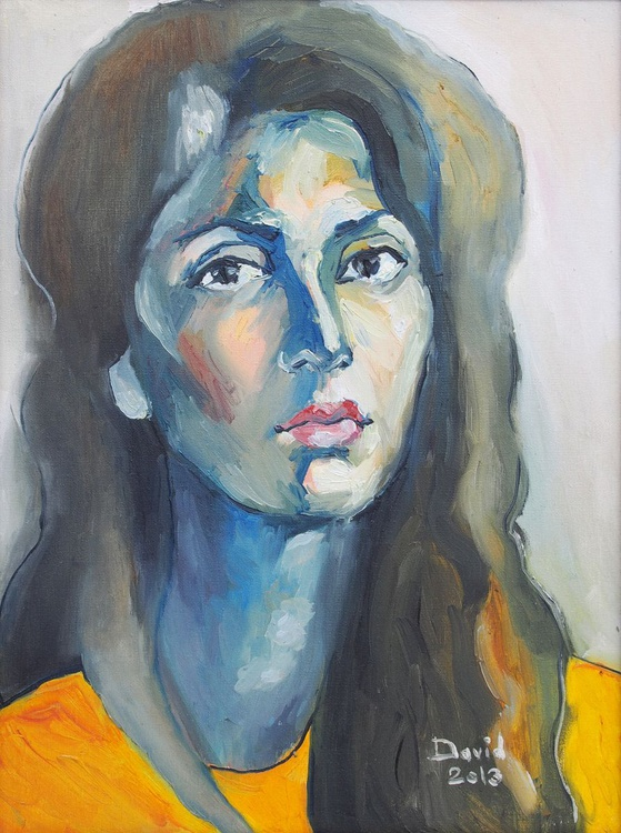 Girl In Yellow - Image 0