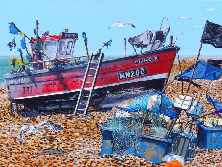 Tide out and Fish tales - Image 0
