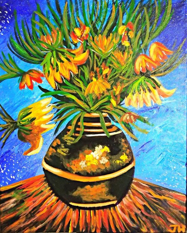 """Van Gogh's """"Fritillaries in a Copper Vase"""" - Image 0"""