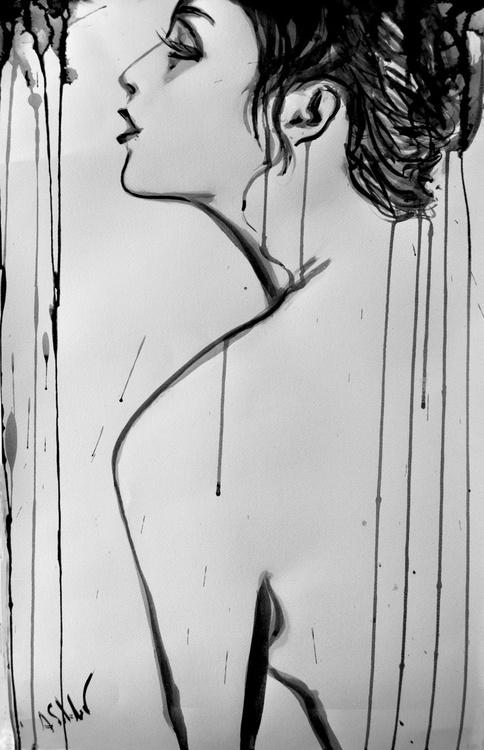 Nude Model in Profile - Image 0