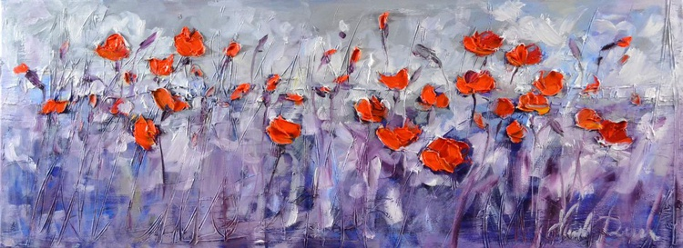 Modern poppies - Image 0