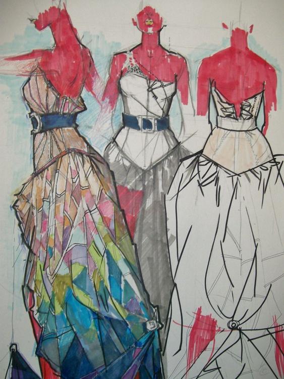 Fashion Design Drawing - Image 0