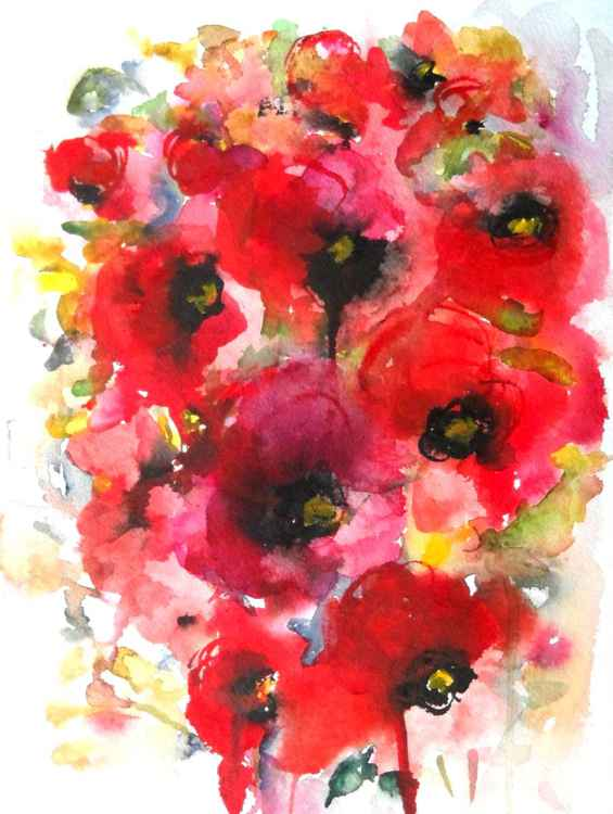 Poppies en masse XII -