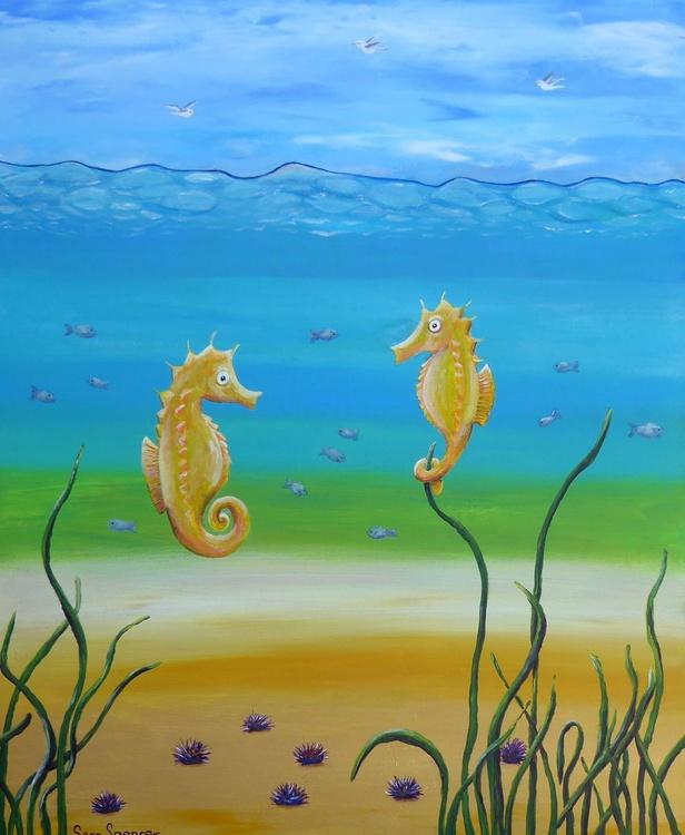 Sea Horses and Sea Life in the Etang - Image 0