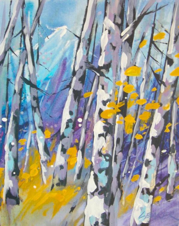 Birches Purple - Image 0