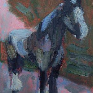 Morpheus oil sketch by Sheri Gee
