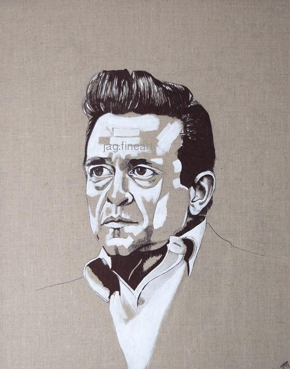 Johnny Cash Illustration - Image 0