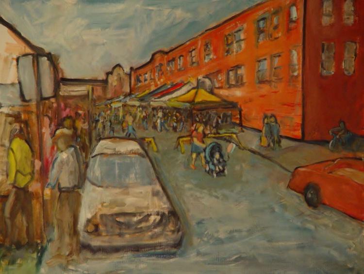 Art Fair On Oliver Street - Image 0