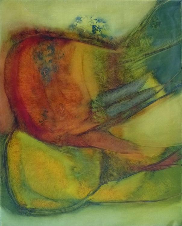 Metafigure #72, oil on canvas 81x65 cm - Image 0