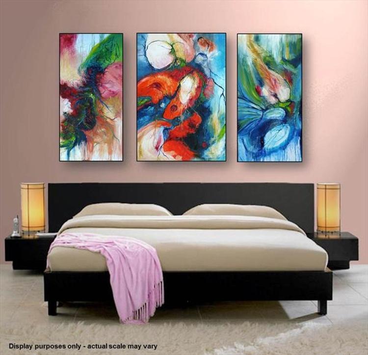 Harmonious Interaction (Triptych) - Image 0