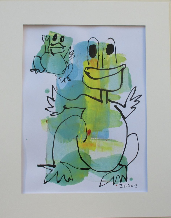 Happy frogs - Image 0