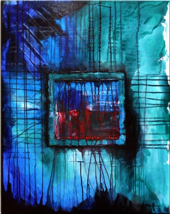 The Windows - Amazing Original Abstraction Big Canvas Art - Image 0