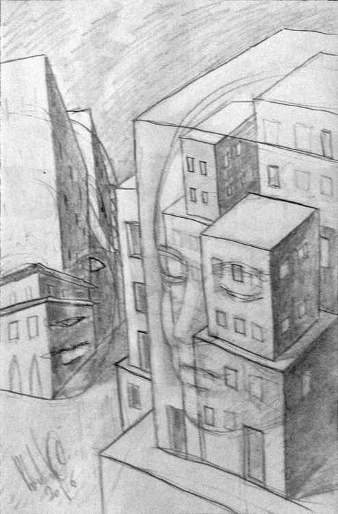 Cityscape sketch -