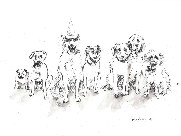 Dog mates - Happy Birthday Oscar - Image 0