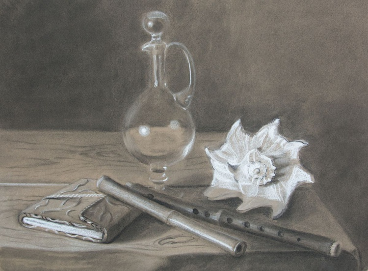 Stillife with shell. - Image 0