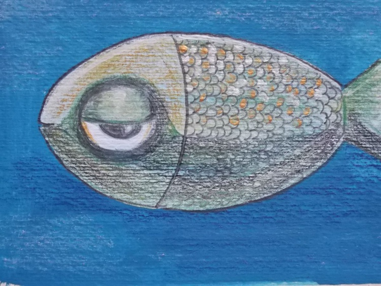 The little Green fish - Image 0