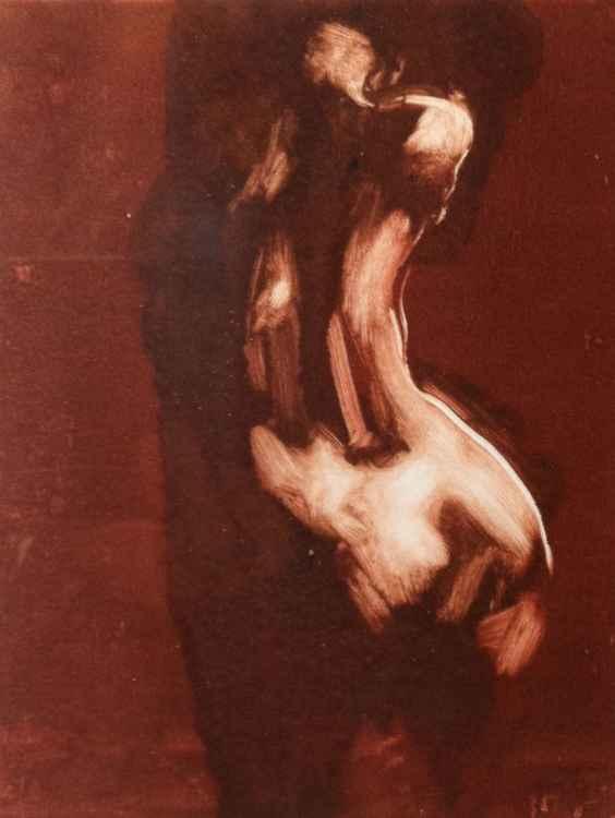 Figure study Monotype 4 -
