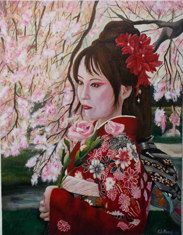 Red Sakura - Image 0