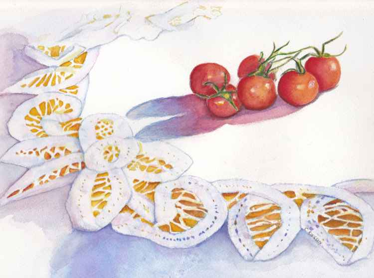 Lace and Tomatoes -