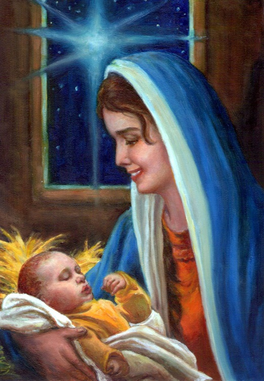 Mary and Child 3 - Image 0