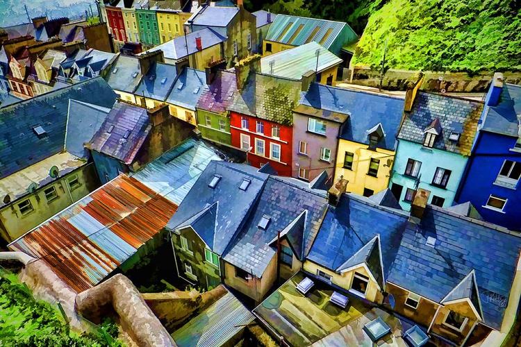 Rooftops In Cork Ireland - Image 0