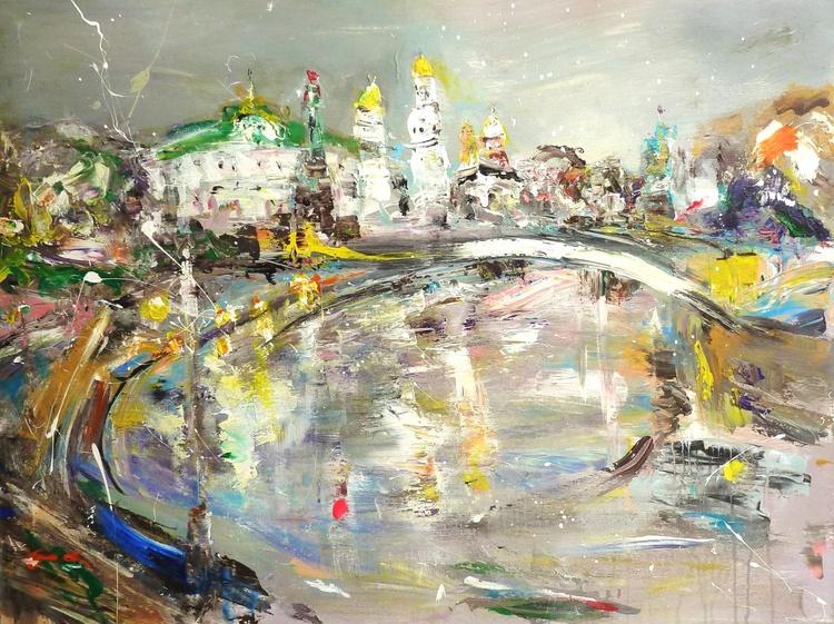 The capital. Carnival. 90 x 120 cm - Image 0