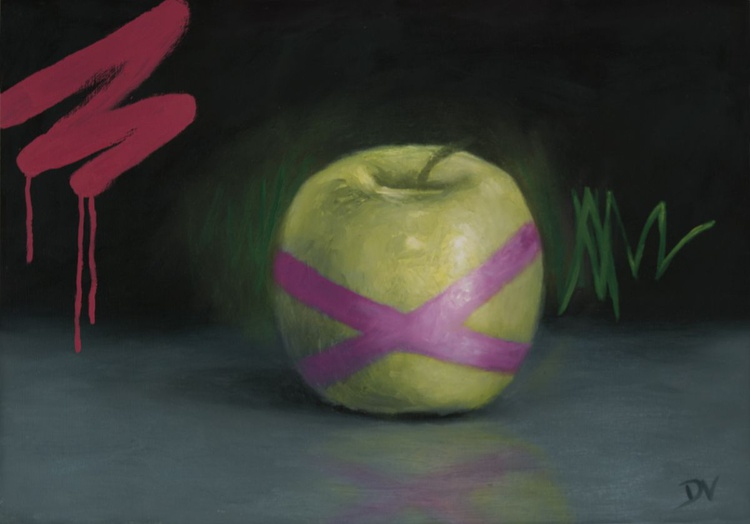 Proto Still  life #7 Apple - Image 0