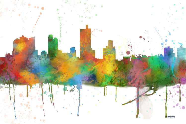Fort Worth Skyline MCLR1 -