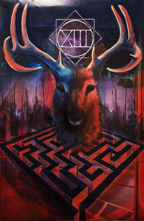 Deer in the Maze -