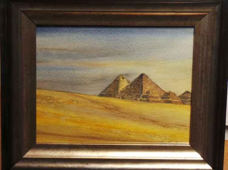 Golden Pyramids -