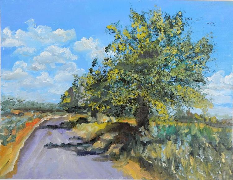 Landscape (5) sketch. - Image 0