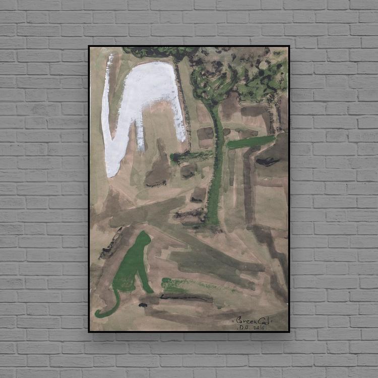 Green Cat - Image 0