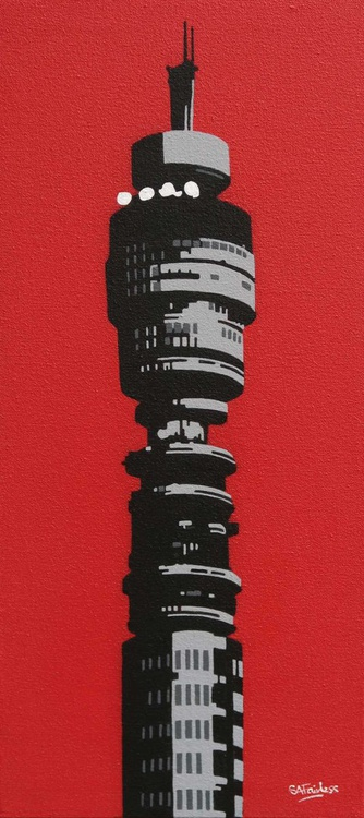 BT Tower Red - Image 0