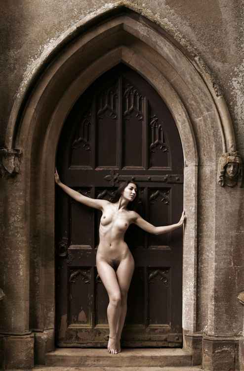 In The Doorway -