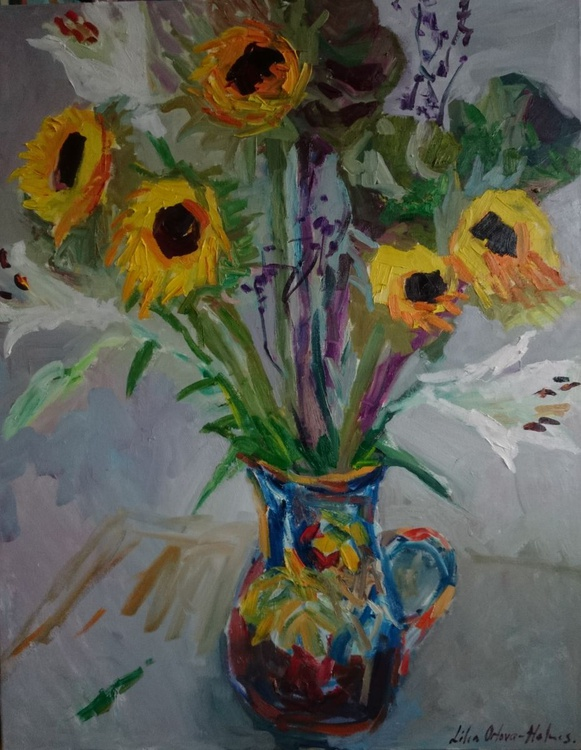 Still life with flowers . - Image 0