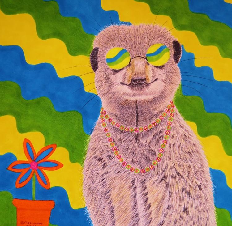 groovy little meerkat - Image 0