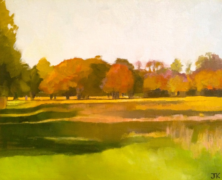 GOLDEN TREES, STUDY - Image 0