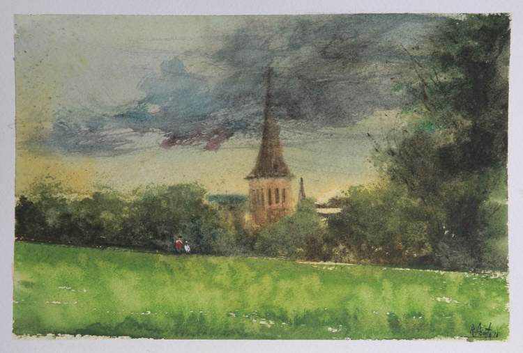 Brockwell Park, London ( framed ) - Image 0