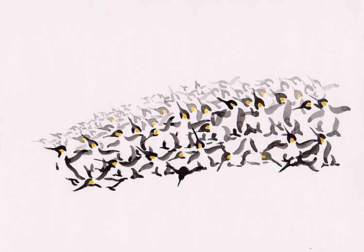 Raft of Penguins 3021A -