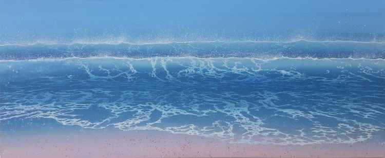 Waves off Bembridge -