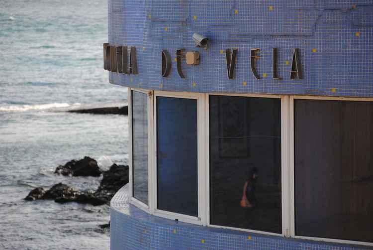Nautical Ocean Photograph – Escuela de Vela, Las Palmas de Gran Canaria Architectural Travel And Ocean Retro Limited Edition Photograph -