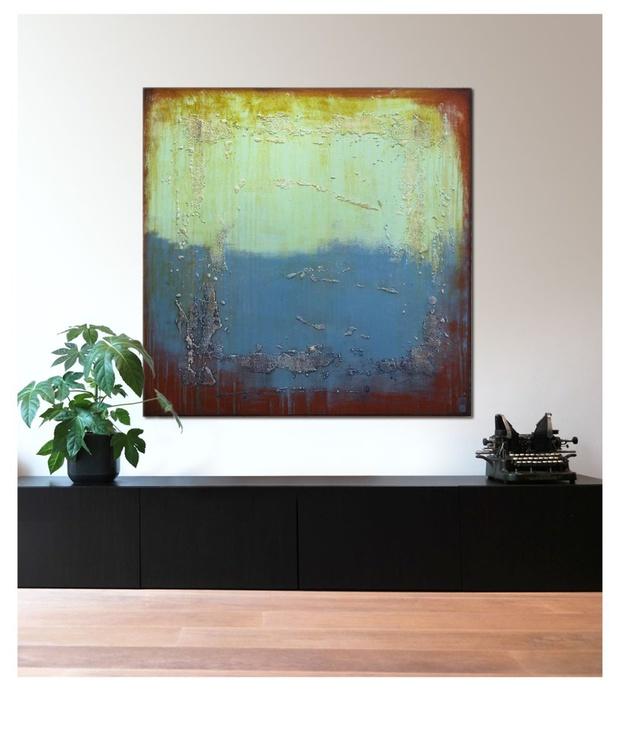 Supersized-Artwork - Once Turquoise - XL - C5 - Image 0