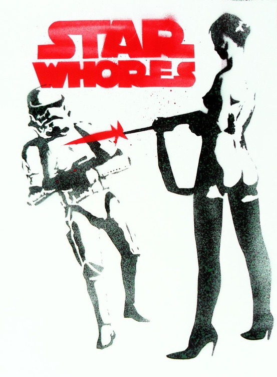 Star Whores  (On Paper) - Image 0