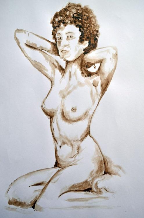 Girl in sepia 3 - Image 0