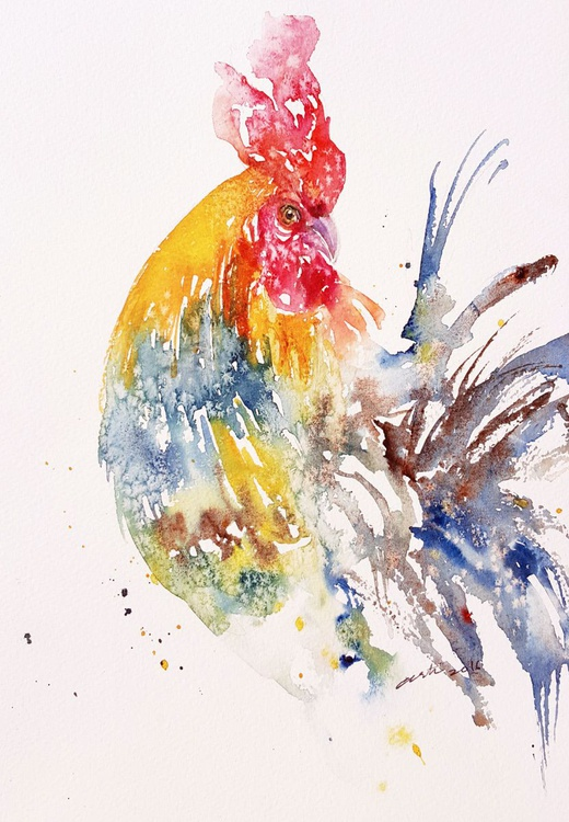 Rainbow Ron_ Rooster - Image 0