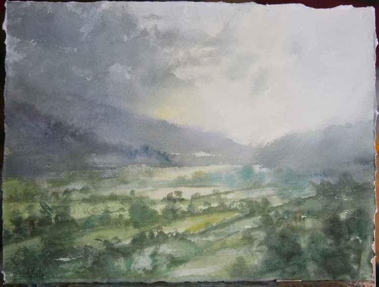 Cumbria Landscape, England