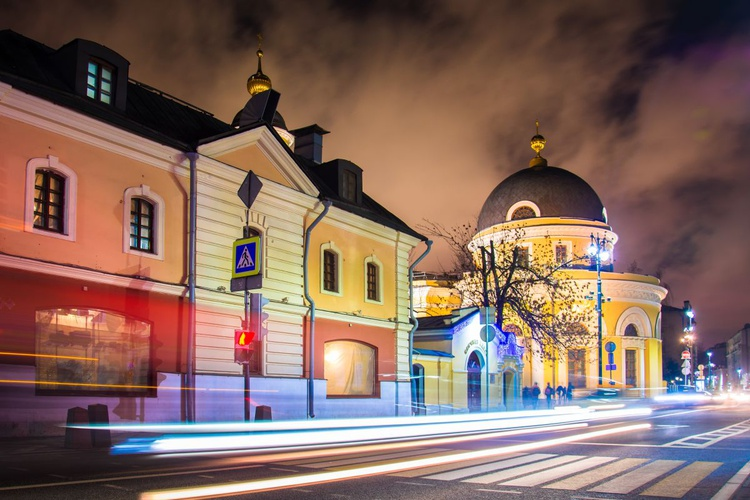Night street of Moscow - Image 0
